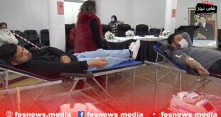 كفاءات مواطنة للتنمية تنظم حملة للتبرع بالدم من داخل غرفة التجارة والصناعة بفاس